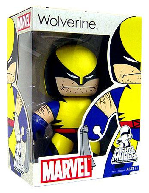 Marvel Mighty Muggs Series 4 Wolverine Vinyl Figure