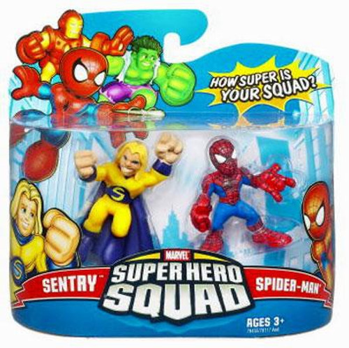 Marvel Super Hero Squad Series 9 Sentry & Spider-Man Action Figure 2-Pack