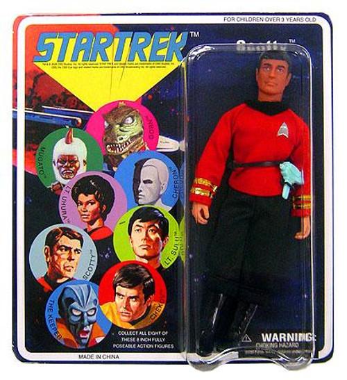 Star Trek The Original Series Series 4 Cloth Retro Scotty Action Figure
