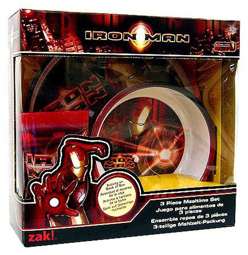 Iron Man 3-Piece Mealtime Set