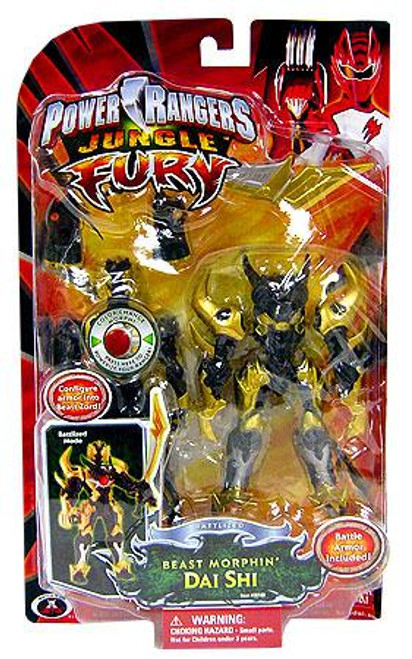 Power Rangers Jungle Fury Battlized Beast Morphin Dai Shi Action Figure