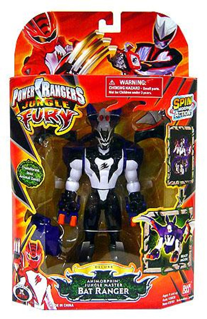 Power Rangers Jungle Fury Deluxe Animorphin Jungle Master Bat Ranger Action Figure