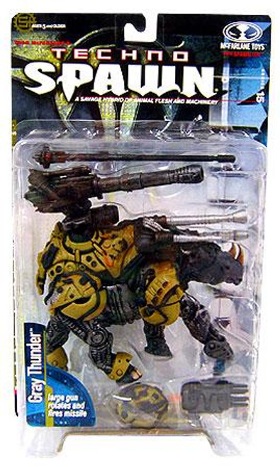 McFarlane Toys Series 15 Techno Spawn Gray Thunder Action Figure