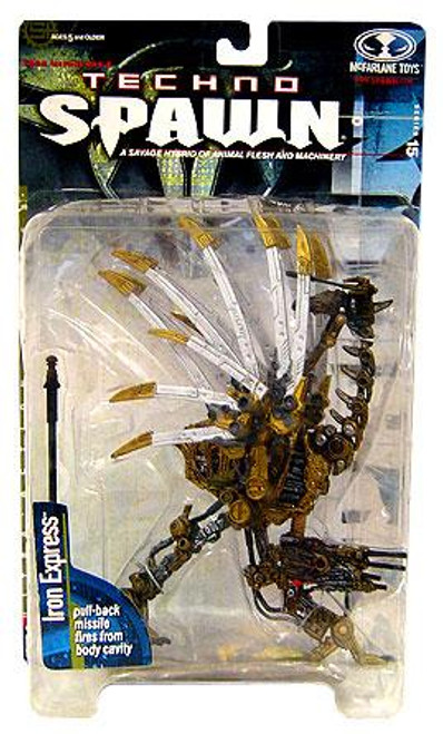 McFarlane Toys Series 15 Techno Spawn Iron Express Action Figure