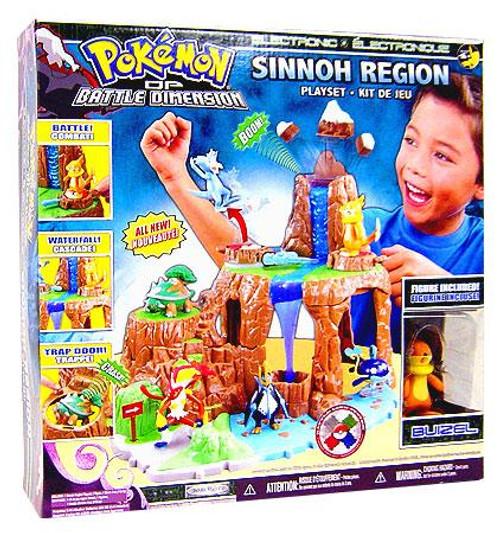Pokemon Diamond & Pearl Battle Dimension Sinnoh Region Playset [Version 2]