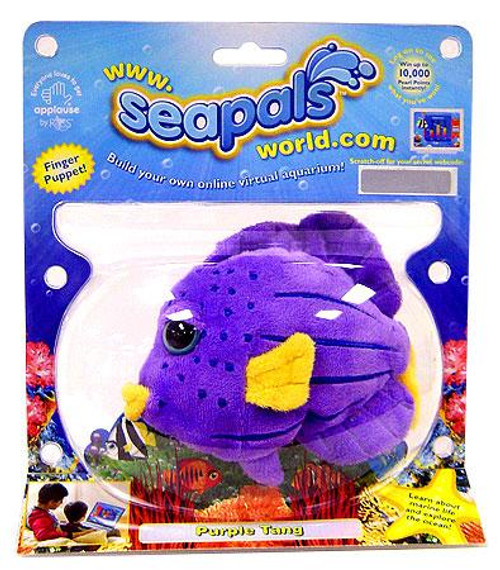 SeaPals Virtual SeaLife Purple Tang Plush