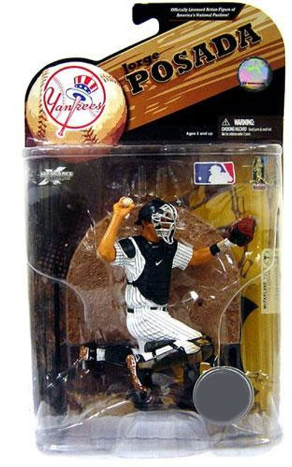 McFarlane Toys MLB New York Yankees Sports Picks Series 23 Exclusive Jorge Posada Exclusive Action Figure