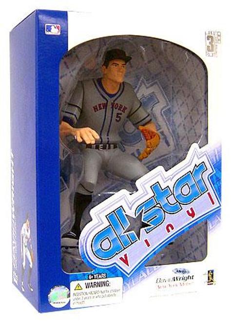 MLB New York Mets All Star Vinyl David Wright Vinyl Figure [Gray Jersey]