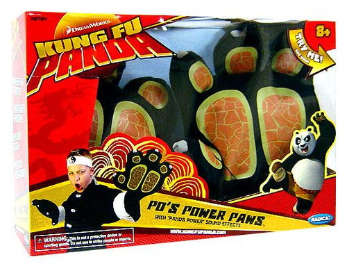 Kung Fu Panda Po's Power Paws Roleplay Toy
