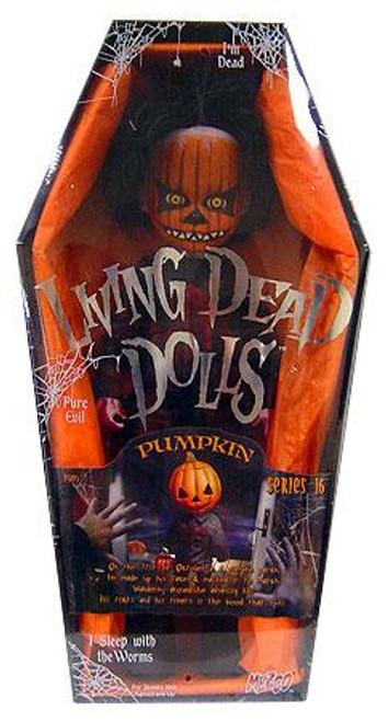 Living Dead Dolls Series 16 Pumpkin Doll