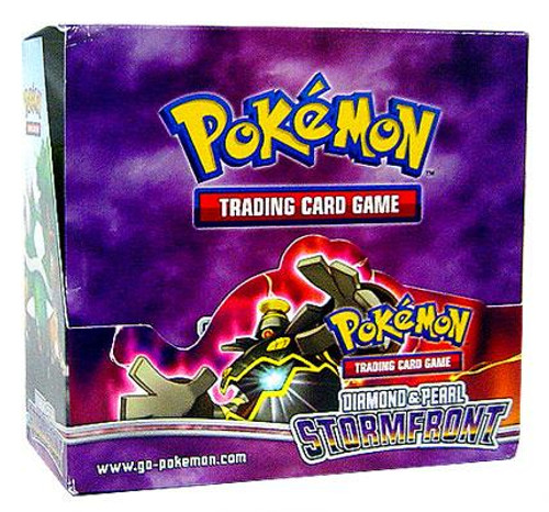Pokemon Diamond & Pearl Stormfront Booster Box [36 Packs] [Sealed]