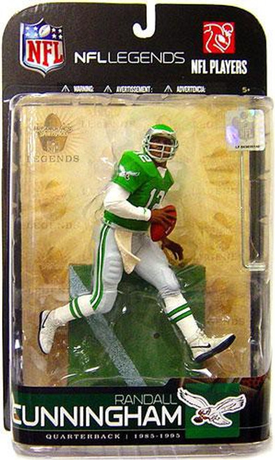 McFarlane Toys NFL Philadelphia Eagles Sports Picks Legends Series 5 Randall Cunningham Action Figure