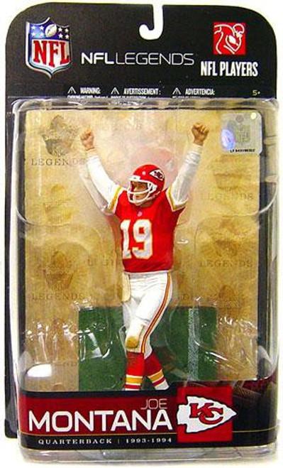 McFarlane Toys NFL Kansas City Chiefs Sports Picks Legends Series 5 Joe Montana Action Figure [Red Jersey]