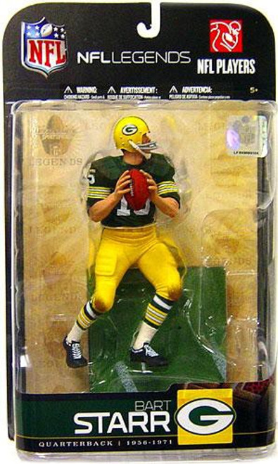 McFarlane Toys NFL Green Bay Packers Sports Picks Legends Series 5 Bart Starr Action Figure [Green Jersey]
