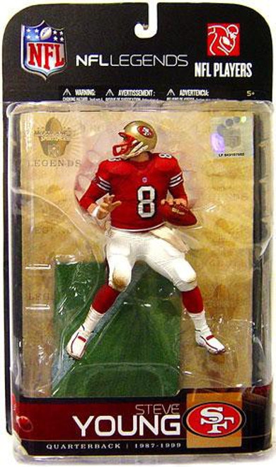 McFarlane Toys NFL San Francisco 49ers Sports Picks Legends Series 5 Steve Young Action Figure