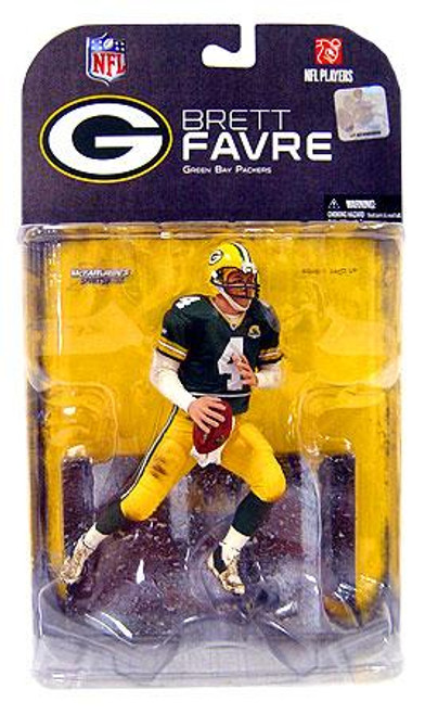 McFarlane Toys NFL Green Bay Packers Sports Picks Series 17 Brett Favre Action Figure [No 'C' on Jersey Variant]