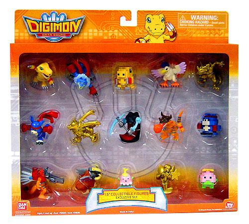 Data Squad Digimon Collectible Exclusive 1 1/2-Inch PVC Figures