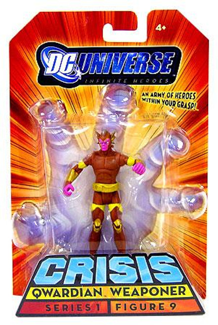 DC Universe Crisis Infinite Heroes Series 1 Qwardian Weaponer Action Figure #9