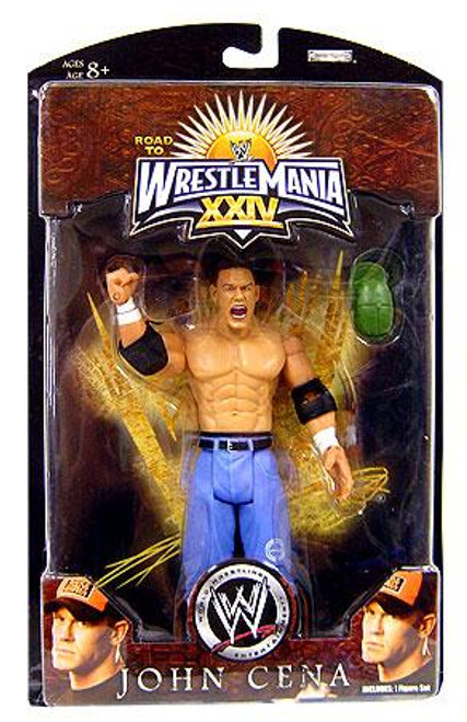 WWE Wrestling Road to WrestleMania 24 Series 3 John Cena Exclusive Action Figure