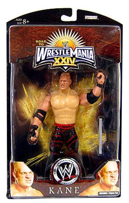 WWE Wrestling Road to WrestleMania 24 Series 3 Kane Exclusive Action Figure