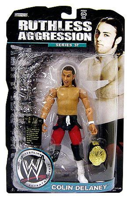 WWE Wrestling Ruthless Aggression Series 37 Colin Delaney Action Figure