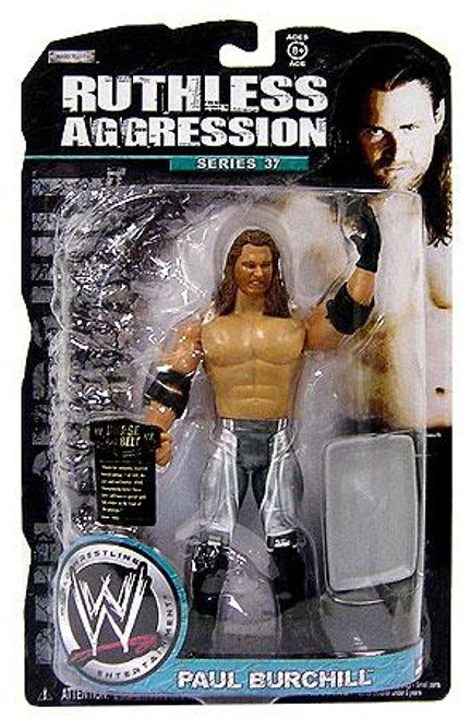 WWE Wrestling Ruthless Aggression Series 37 Paul Burchill Action Figure