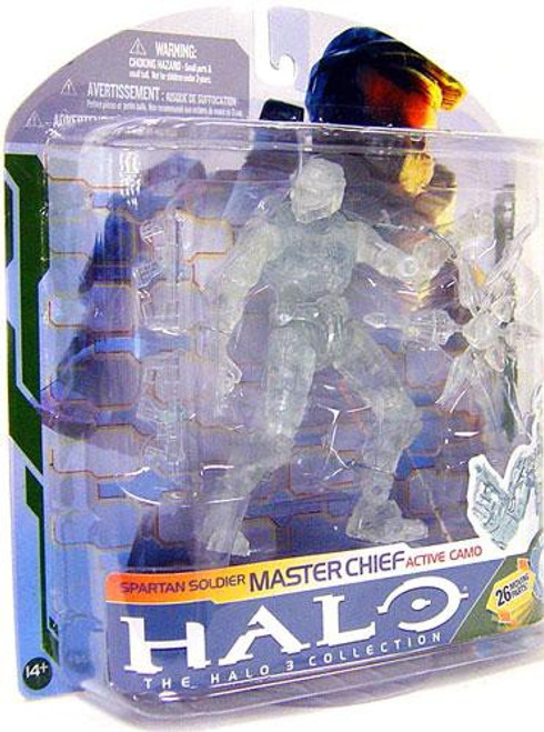 McFarlane Toys Halo 3 Series 5 Master Chief Action Figure [Active Camo]
