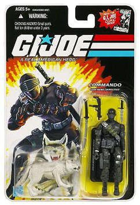 GI Joe Wave 1 Snake Eyes with Timber Action Figure