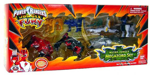 Power Rangers Jungle Fury Micro Animals Micro Jungle Megazord Set