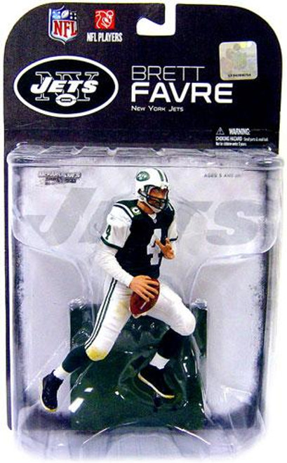 McFarlane Toys NFL New York Jets Sports Picks Series 19 Brett Favre Exclusive Action Figure [Green Jersey Variant]