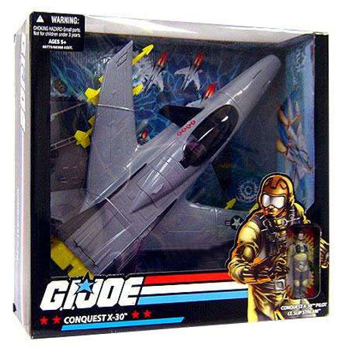 GI Joe Conquest X-30 Exclusive Action Figure Vehicle