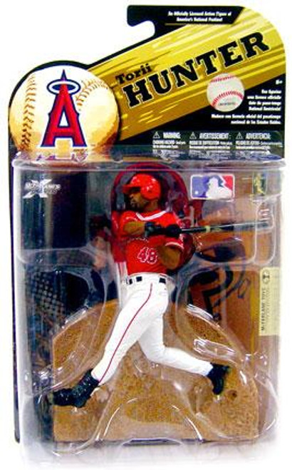 McFarlane Toys MLB Anaheim Angels Sports Picks Series 24 Torii Hunter Action Figure