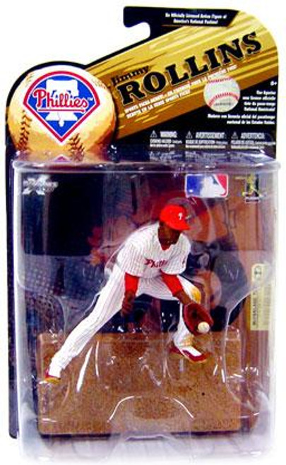 McFarlane Toys MLB Philadelphia Phillies Sports Picks Series 24 Jimmy Rollins Action Figure [White Jersey]