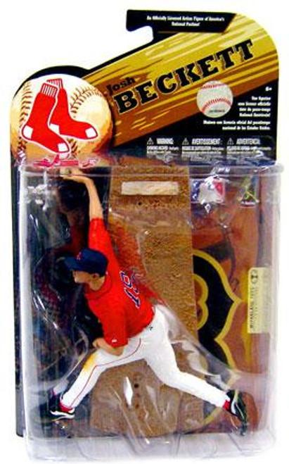 McFarlane Toys MLB Boston Red Sox Sports Picks Series 24 Josh Beckett Action Figure