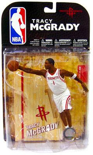 McFarlane Toys NBA Houston Rockets Sports Picks Series 16 Tracy McGrady Action Figure [White Jersey]