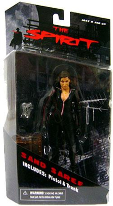 The Spirit Series 1 Sand Seref Action Figure