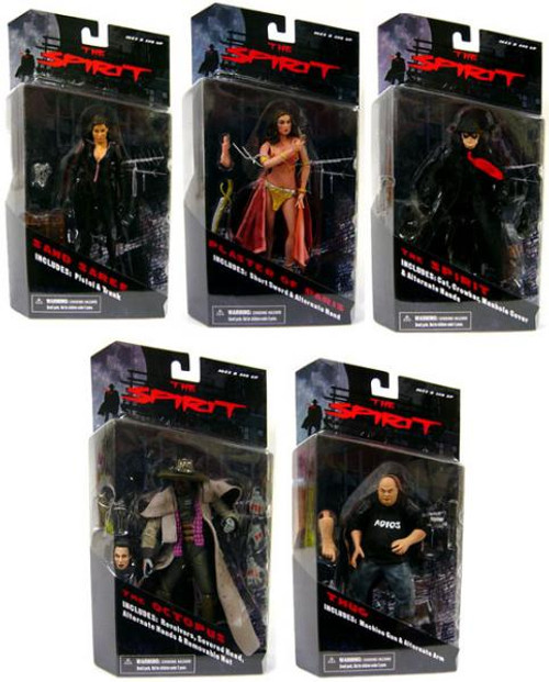 The Spirit Series 1 Set of 5 Action Figures