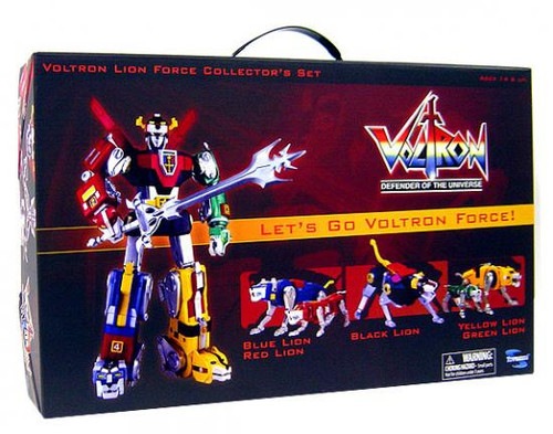 Defender of the Universe Voltron Lion Force Collector's Set [Plastic]