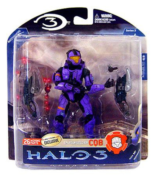 McFarlane Toys Halo 3 Series 3 Spartan Soldier CQB Exclusive Action Figure [Violet]