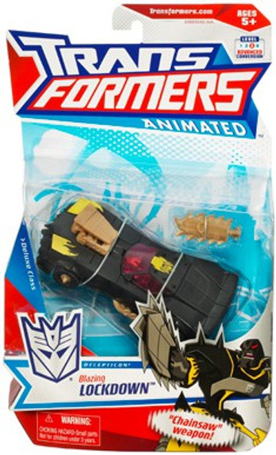 Transformers Animated Deluxe Blazing Lockdown Deluxe Action Figure