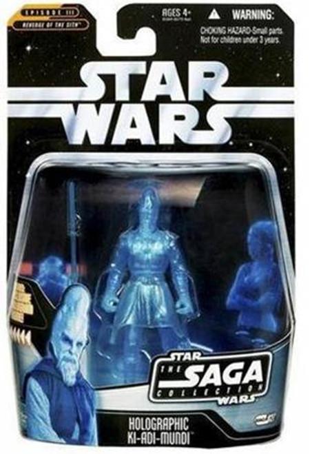 Star Wars Revenge of the Sith Saga Collection 2006 Holographic Ki-Adi-Mundi Action Figure #27