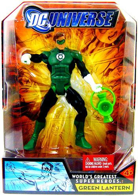 DC Universe World's Greatest Super Heroes Green Lantern Action Figure