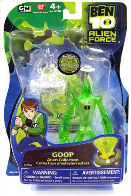 Ben 10 Alien Force Alien Collection Goop Action Figure