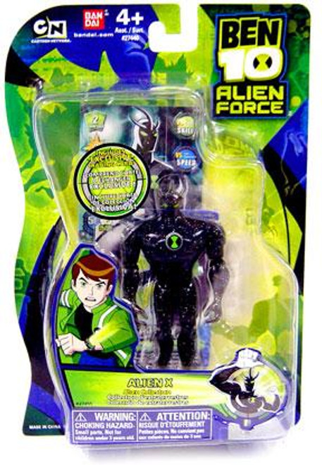 Ben 10 Alien Force Alien Collection Alien X Action Figure