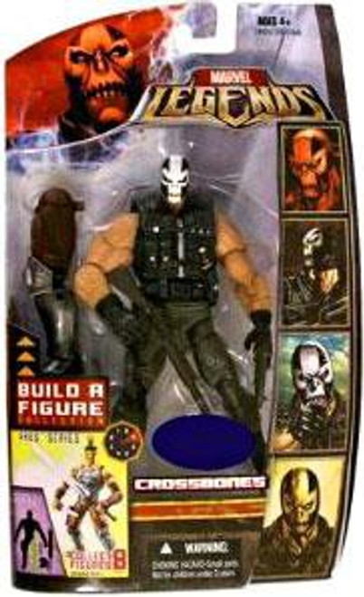 Marvel Legends Ares Build a Figure Crossbones Exclusive Action Figure