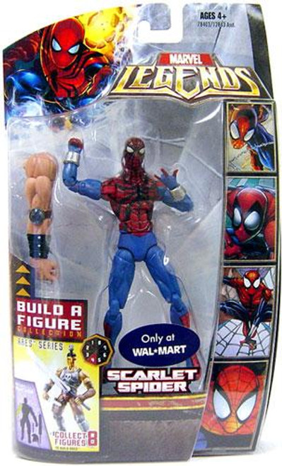 Marvel Legends Ares Build a Figure Ben Reilly Exclusive Action Figure [Scarlet Spider]