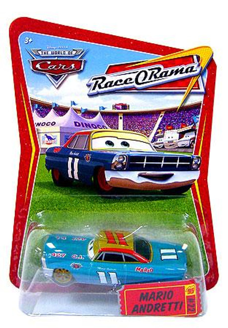 Disney Cars The World of Cars Race-O-Rama Mario Andretti Diecast Car #72