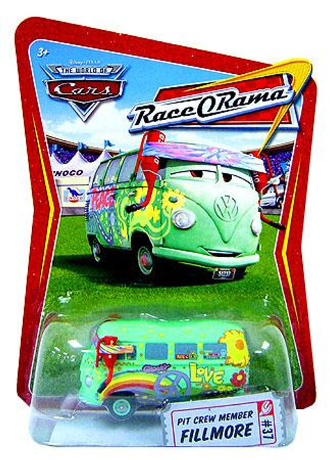 Disney Cars The World of Cars Race-O-Rama Pit Crew Member Fillmore Diecast Car #37