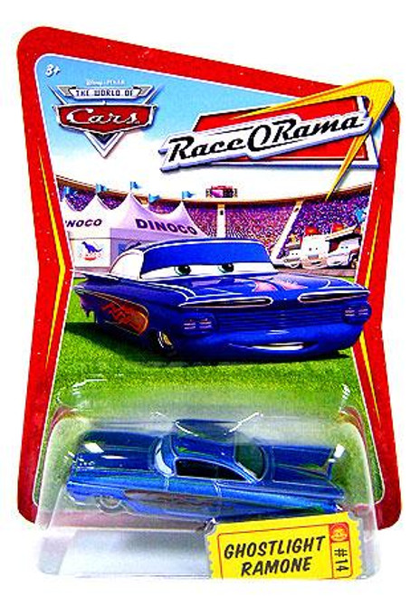 Disney Cars The World of Cars Race-O-Rama Ghostlight Ramone Diecast Car #14