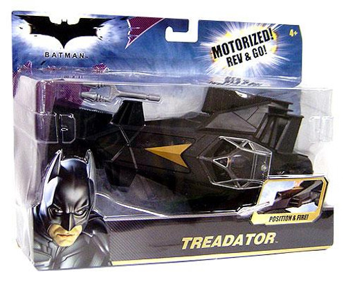 Batman The Dark Knight Rev & Go Treadator Vehicle